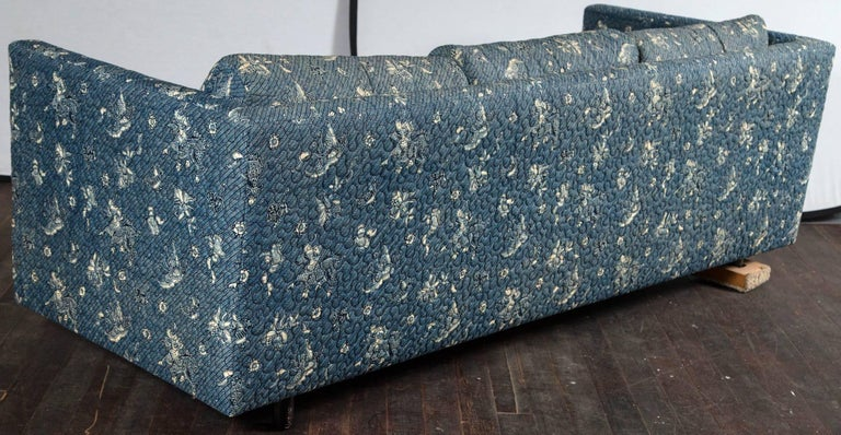 Milo Baughman Style Lawson Sofa For Sale 2