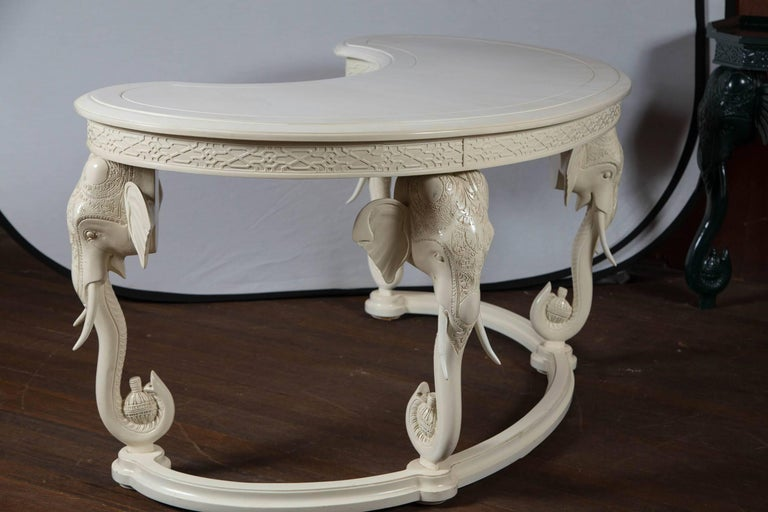 Gampel Stoll Curved Elephant Desk For Sale 1