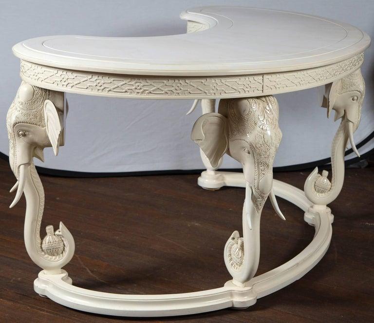 Gampel Stoll Curved Elephant Desk For Sale 2