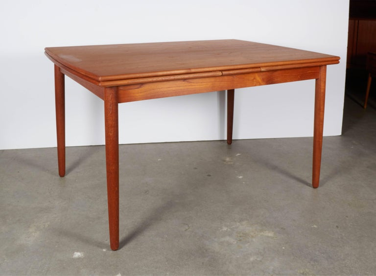 Danish Teak Expandable Dining Table 2