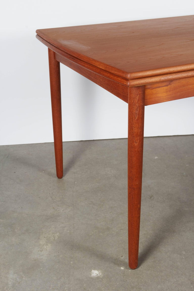 Danish Teak Expandable Dining Table 3