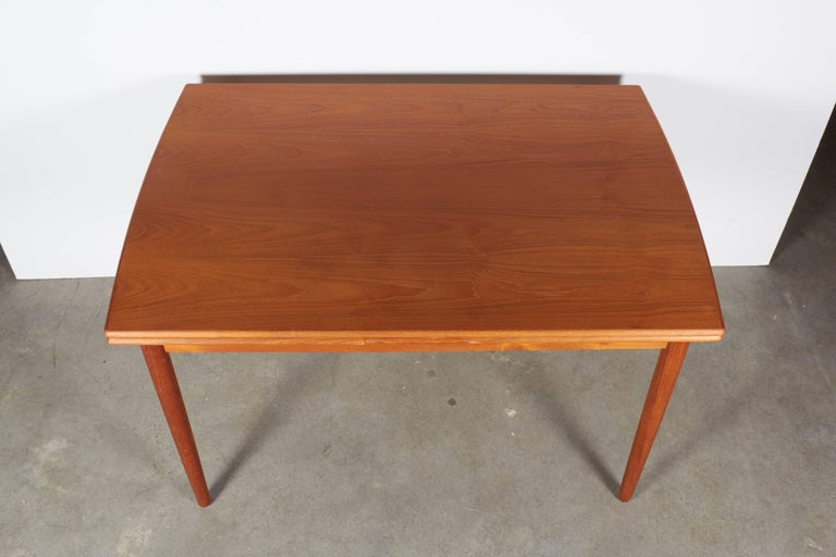 Danish Teak Expandable Dining Table 4