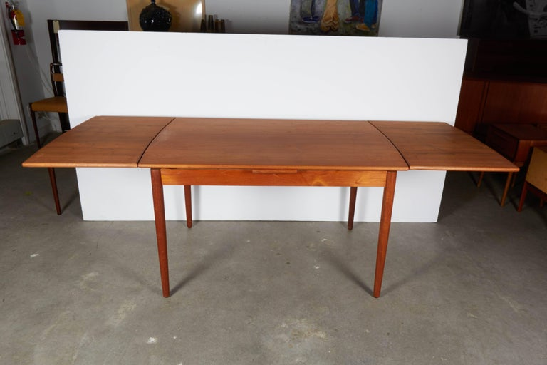 Danish Teak Expandable Dining Table 5