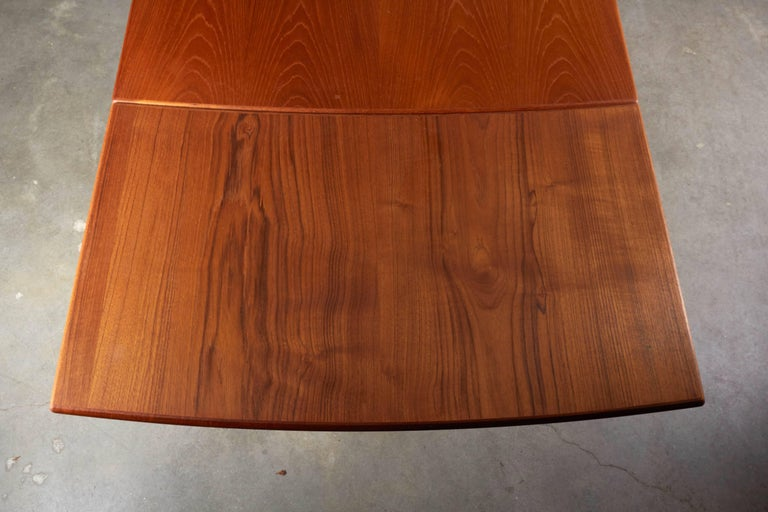 Danish Teak Expandable Dining Table 7