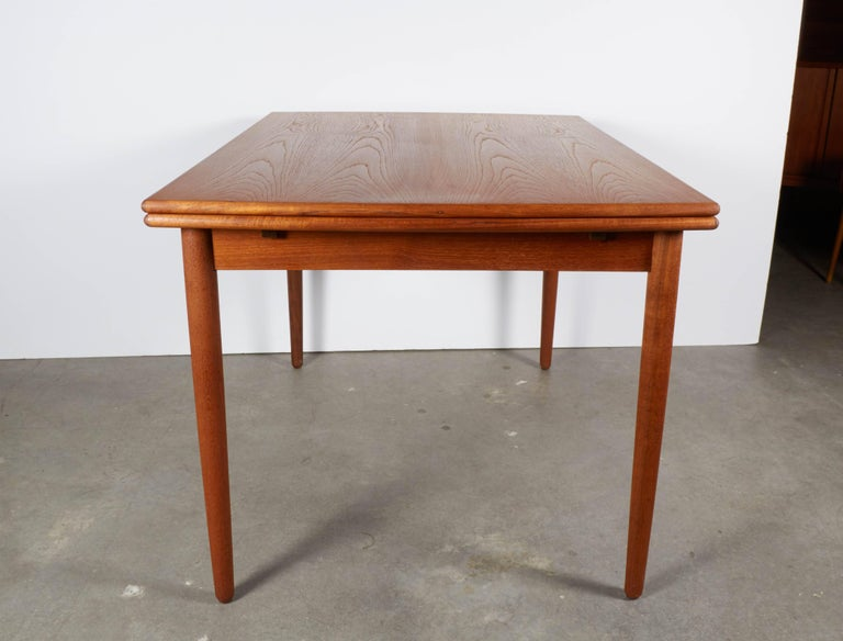Danish Teak Expandable Dining Table 9