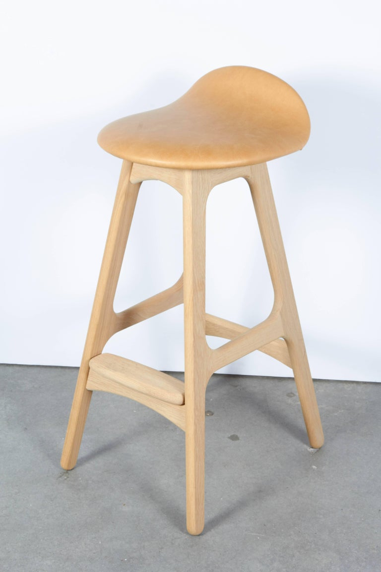 Erik Buch Counter Height Stool, Set of Three 3