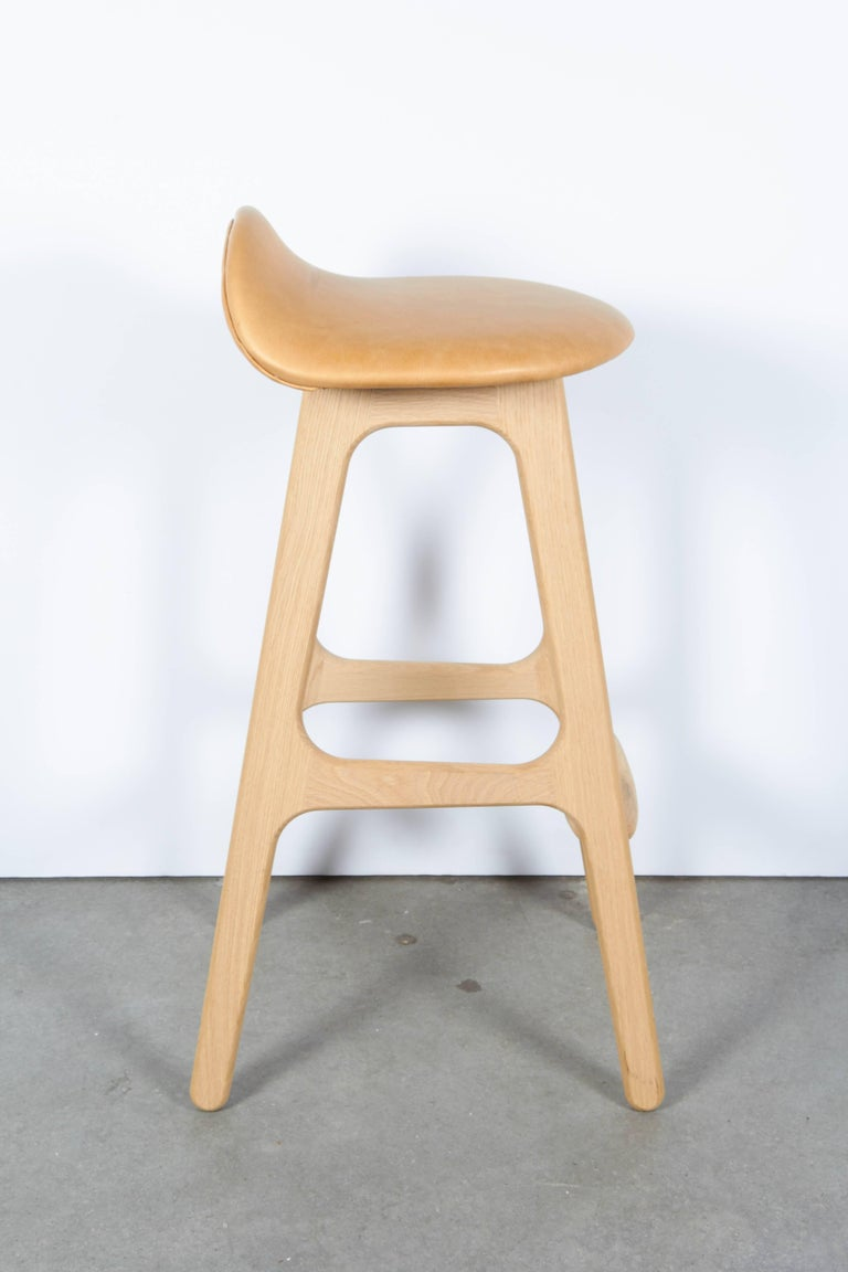 Erik Buch Counter Height Stool, Set of Three 6