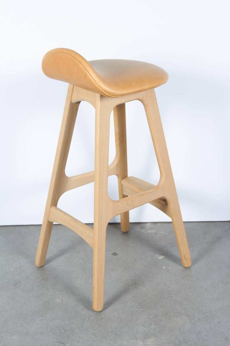 Erik Buch Counter Height Stool, Set of Three 7