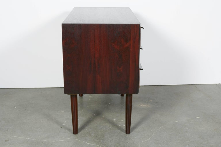 Midcentury Danish Night Stands by Larsen, Pair 6