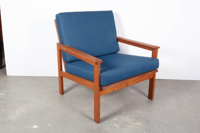 Teak Danish Armchairs by Illum Wikkelsø, Pair 2