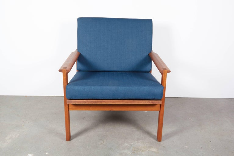 Teak Danish Armchairs by Illum Wikkelsø, Pair 4