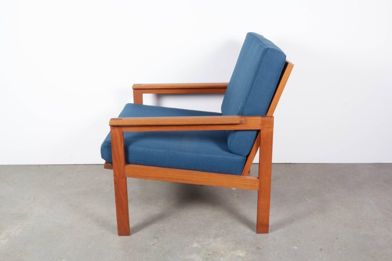 Teak Danish Armchairs by Illum Wikkelsø, Pair 5