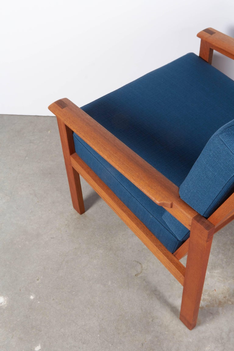 Teak Danish Armchairs by Illum Wikkelsø, Pair 6
