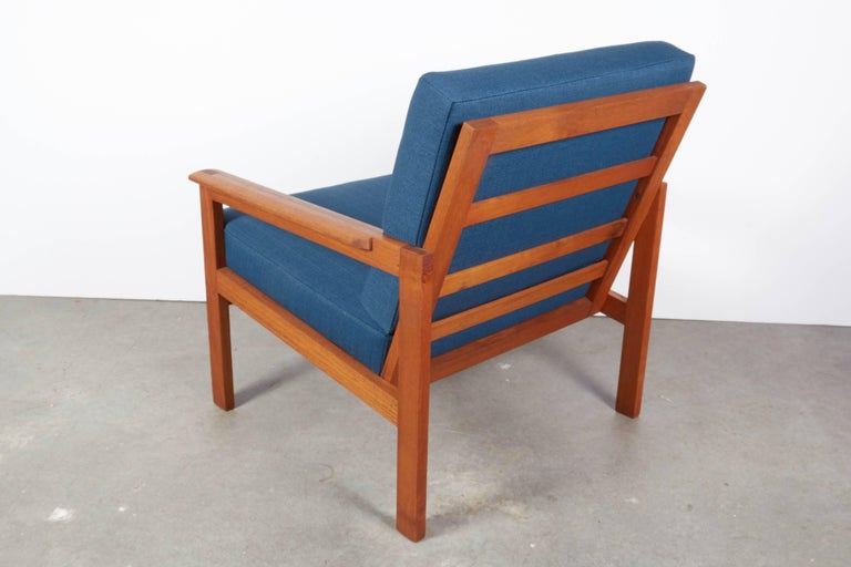 Teak Danish Armchairs by Illum Wikkelsø, Pair 7