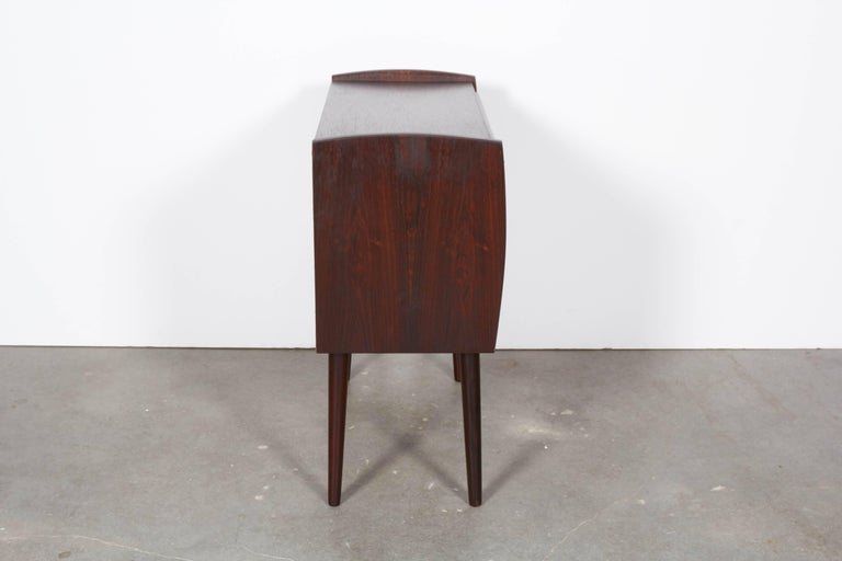 Pair of Danish Rosewood Night Stands 5