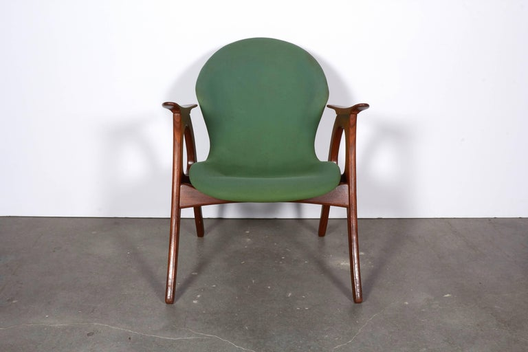 Danish Armchairs by Aage Christensen 2