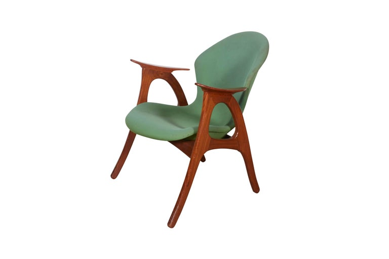Danish Armchairs by Aage Christensen 3