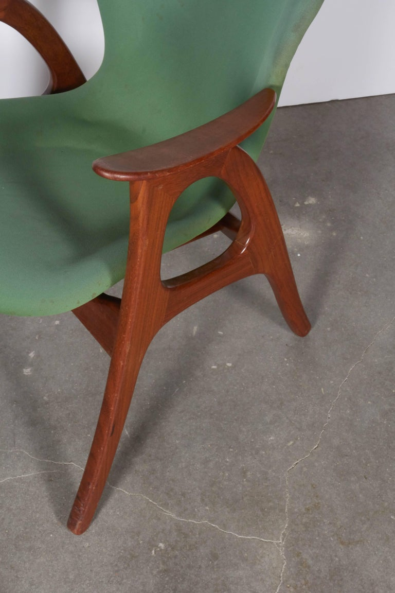Danish Armchairs by Aage Christensen 4