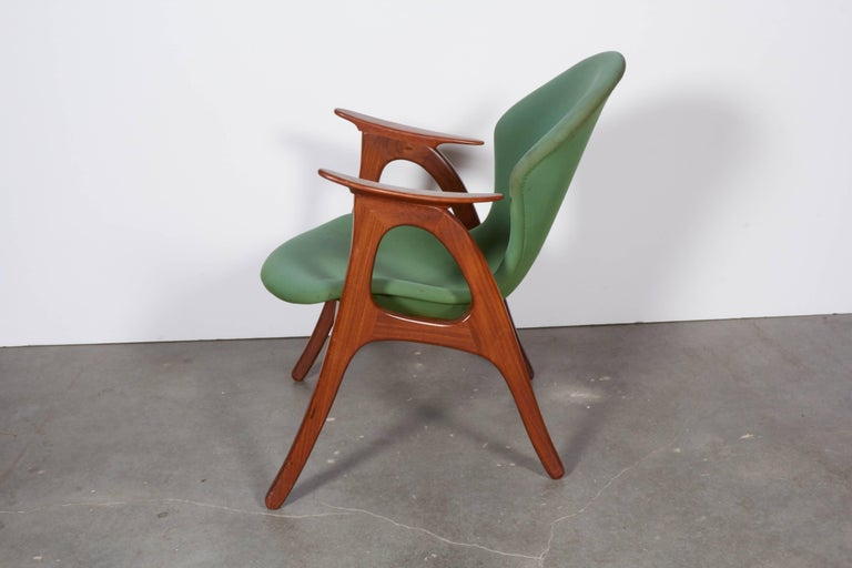 Danish Armchairs by Aage Christensen 5