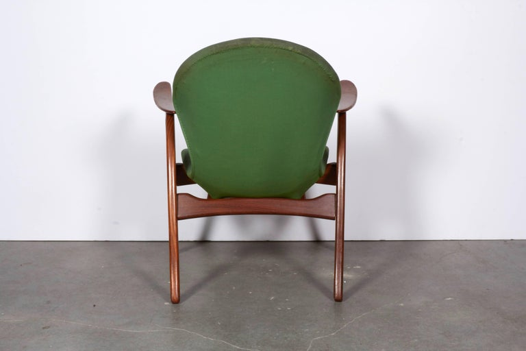 Danish Armchairs by Aage Christensen 7