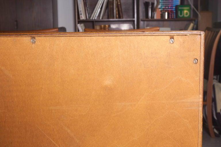 Teak Tambour Sideboard 9
