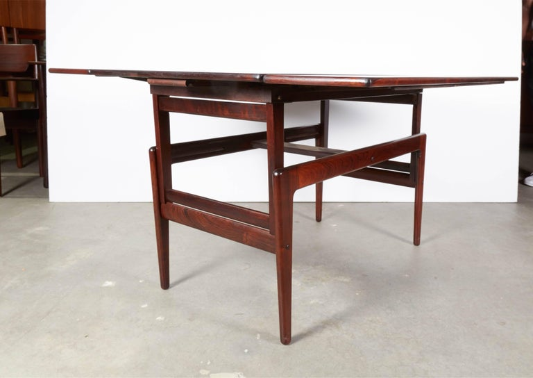 Rosewood Elevator Coffee Table / Dining Table 6
