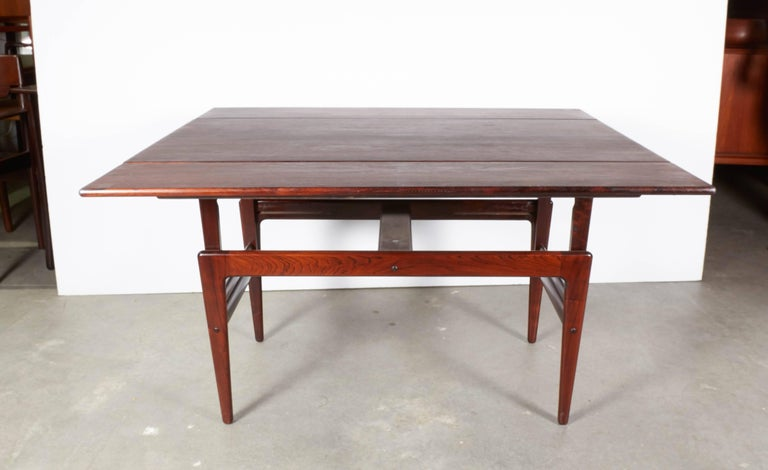 Rosewood Elevator Coffee Table / Dining Table 8