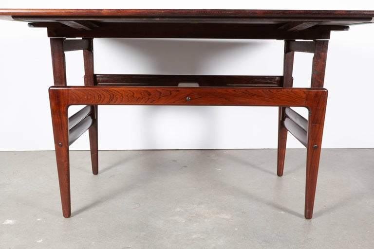 Rosewood Elevator Coffee Table / Dining Table 9