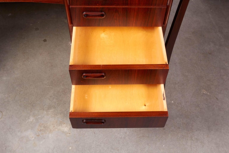 Danish 1960s Rosewood Desk by Svend Aage Madsen 2