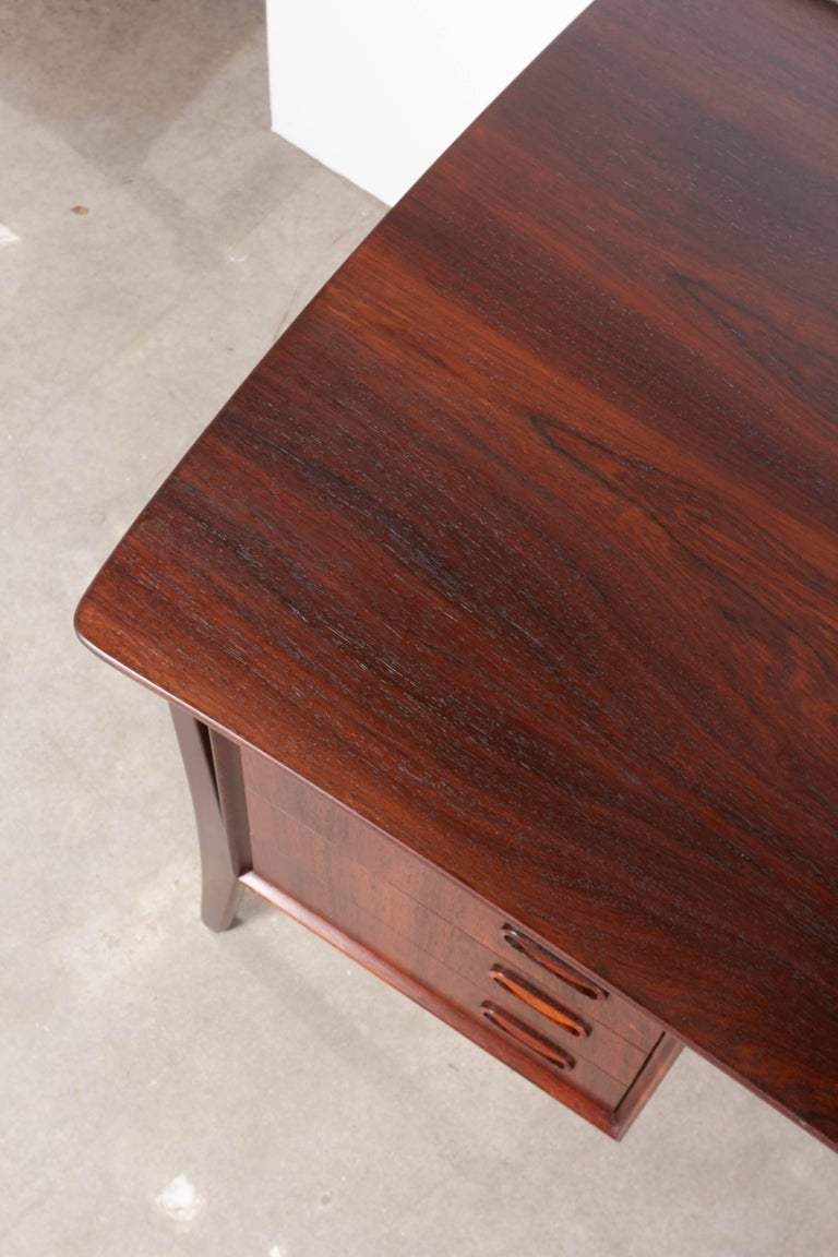 Danish 1960s Rosewood Desk by Svend Aage Madsen 4