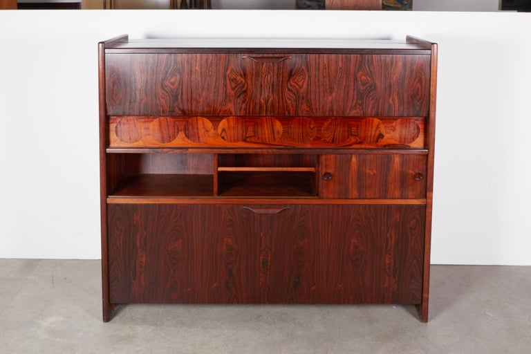 Rosewood Standing Dry Bar by Johannes Andersen 2