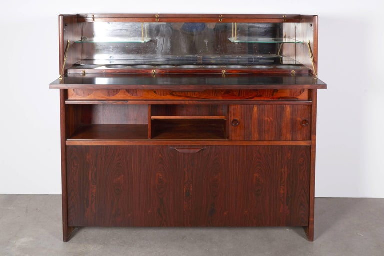 Rosewood Standing Dry Bar by Johannes Andersen 5