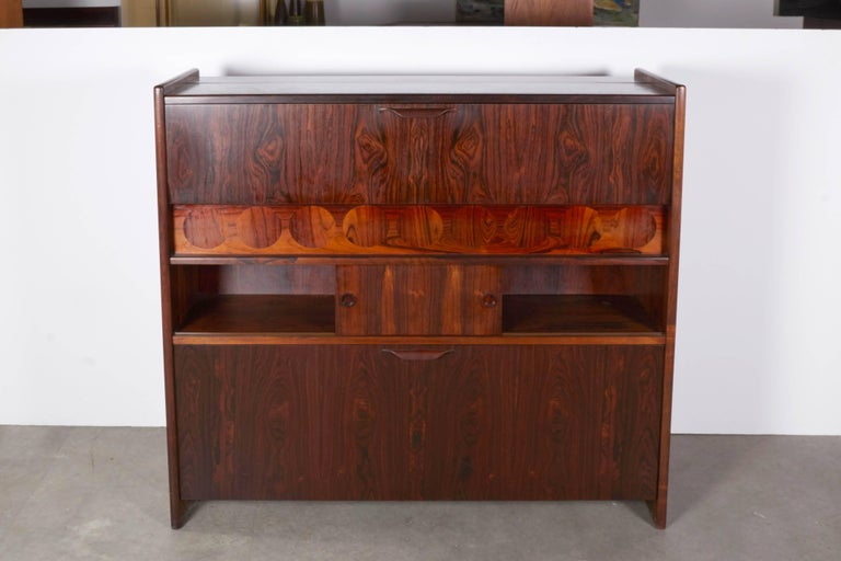 Rosewood Standing Dry Bar by Johannes Andersen 6