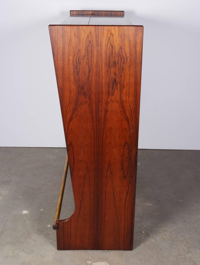 Rosewood Standing Dry Bar by Johannes Andersen 7