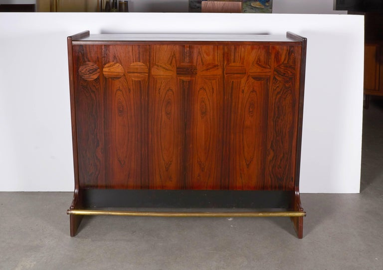 Rosewood Standing Dry Bar by Johannes Andersen 8