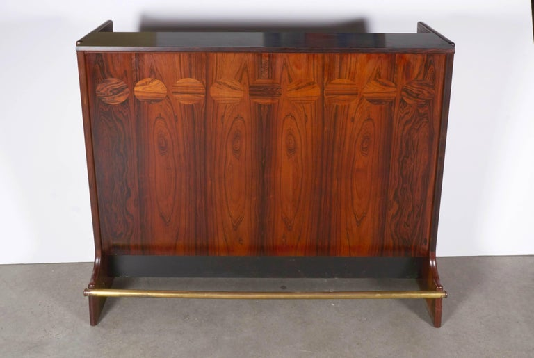 Rosewood Standing Dry Bar by Johannes Andersen 10