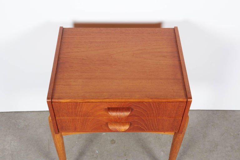 Danish Teak Nightstand by Poul Volther 3