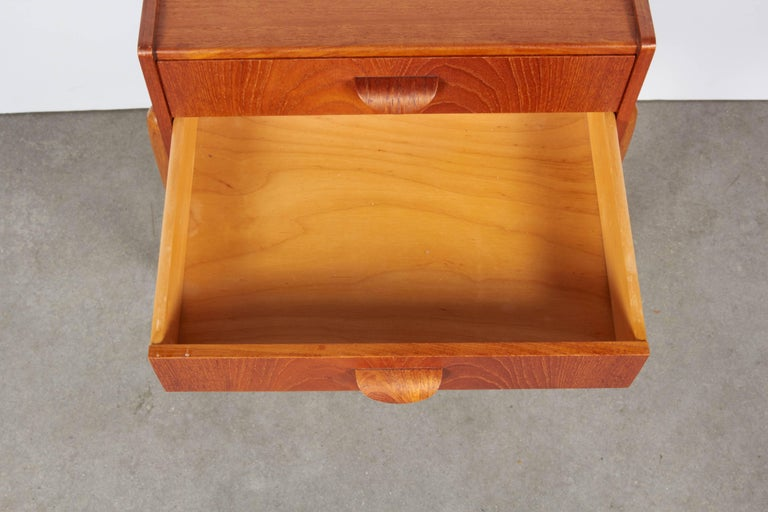 Danish Teak Nightstand by Poul Volther 4
