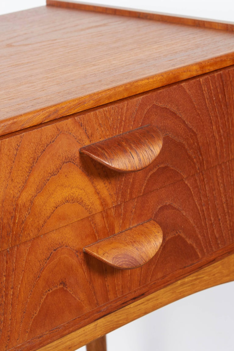 Danish Teak Nightstand by Poul Volther 5