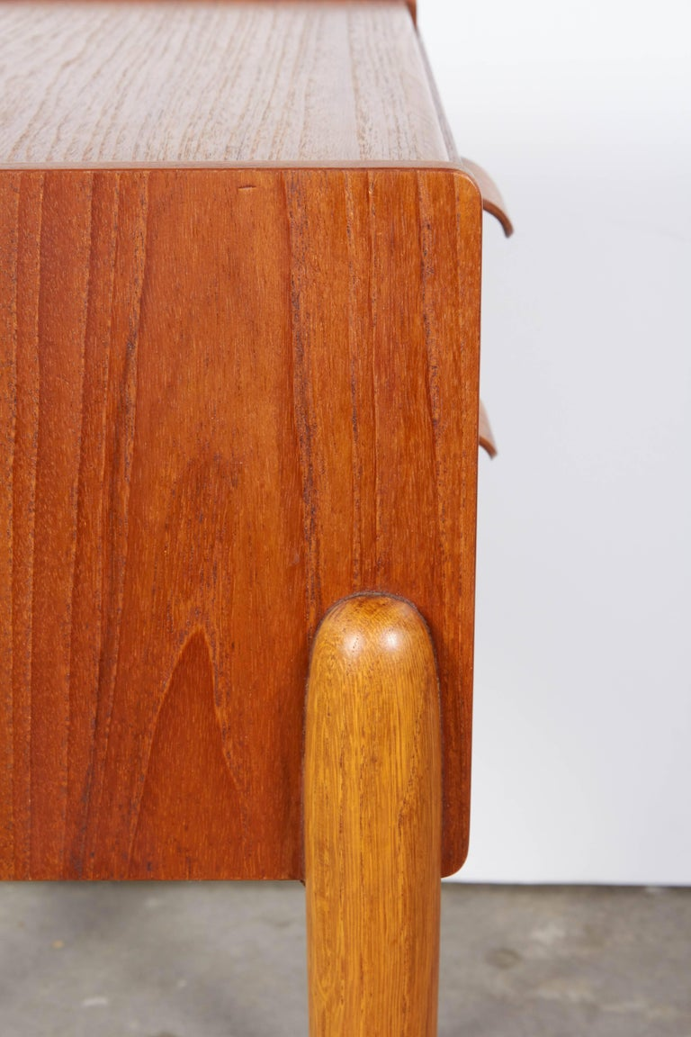 Danish Teak Nightstand by Poul Volther 7