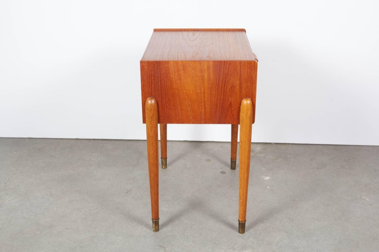 Danish Teak Nightstand by Poul Volther 8