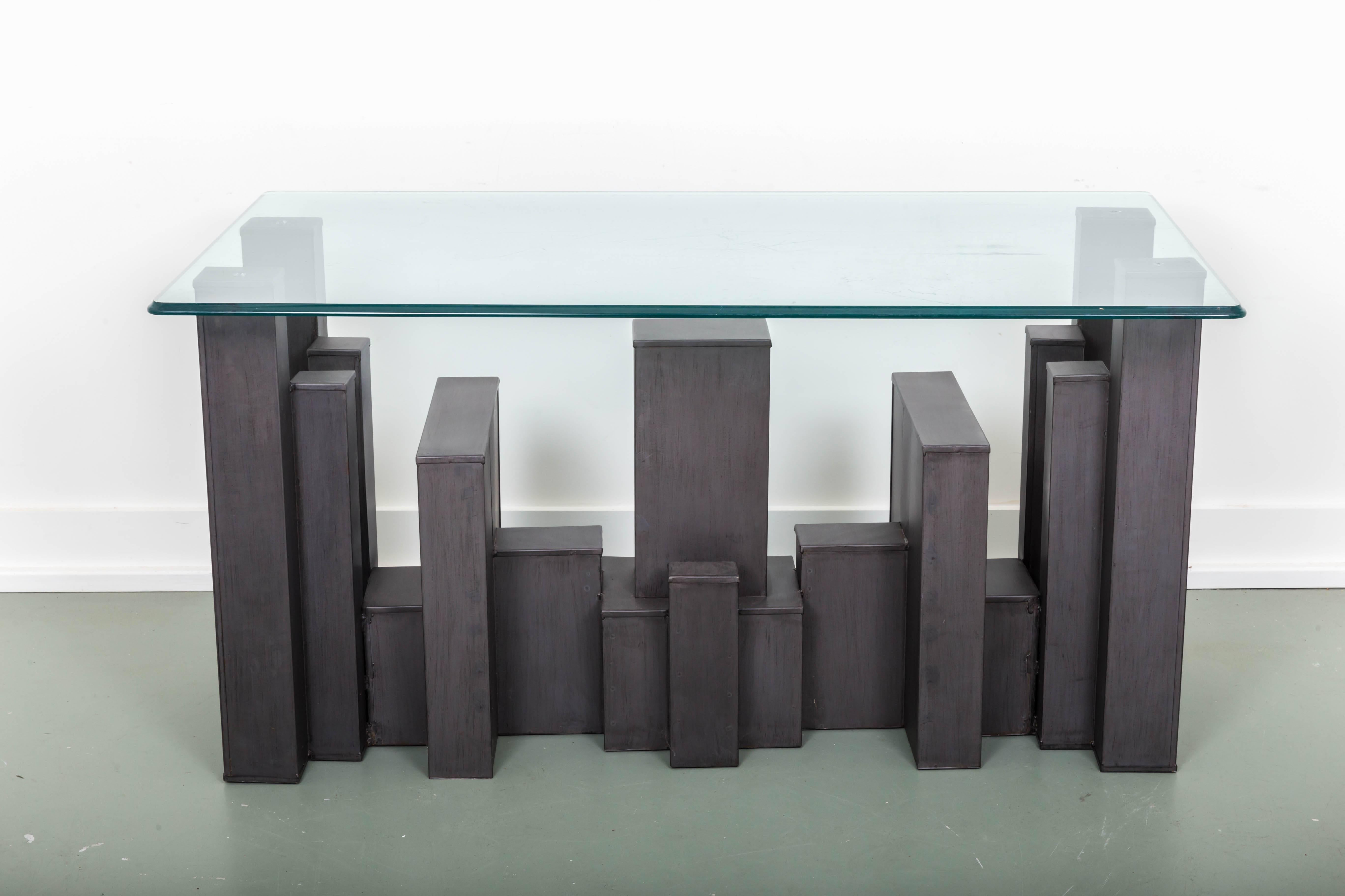 Andrew Martin Columbus Console Table For Sale At 1stdibs
