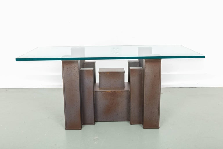 Steel Andrew Martin, Columbus Coffee Table For Sale