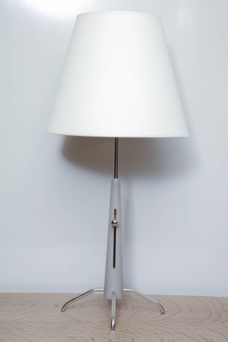 Pair Of Telescoping Table Lamps For Sale At 1stdibs