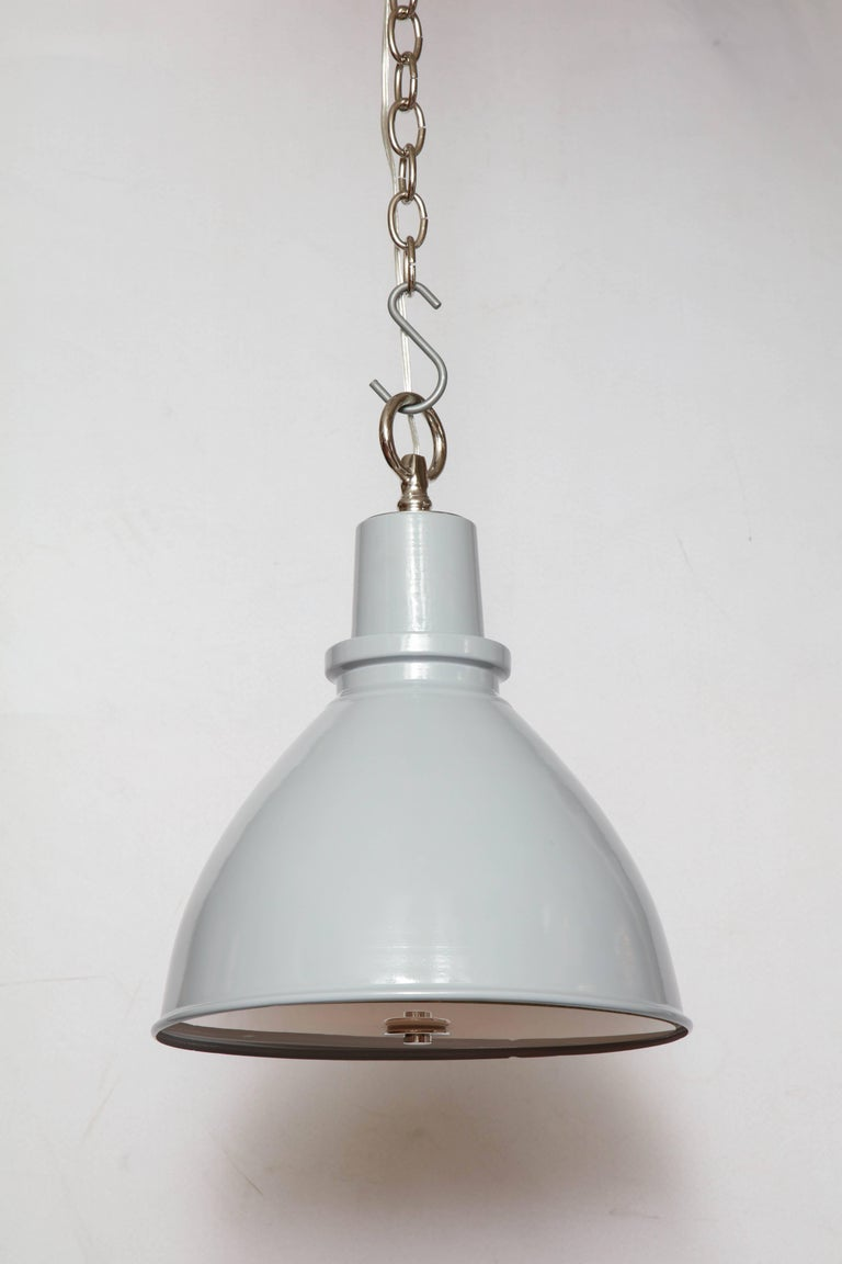 English Highlander Light with Diffuser Grey For Sale