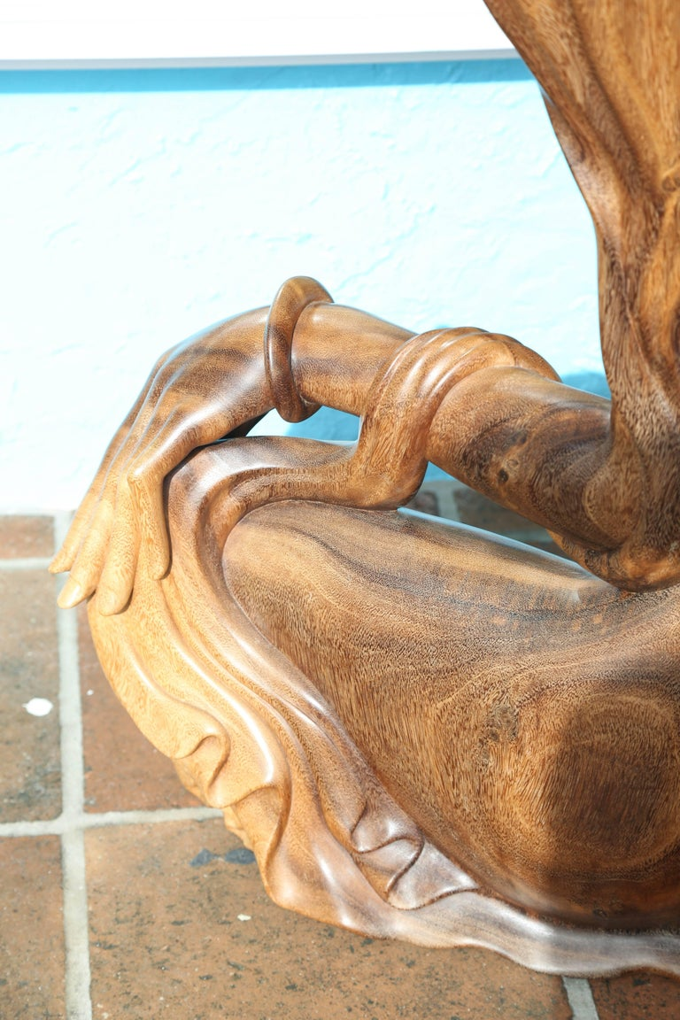 Larger Than Life Midcentury Teak Root Nude 2