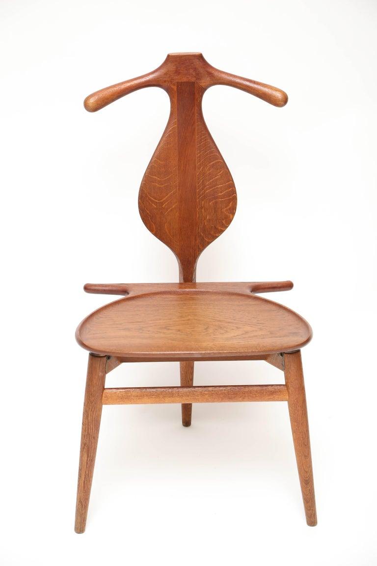 Danish Hans Wegner Valet Chair For Sale