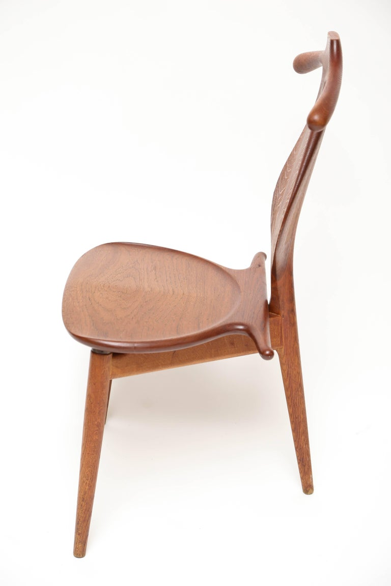 Hans Wegner Valet Chair In Good Condition For Sale In West Palm Beach, FL