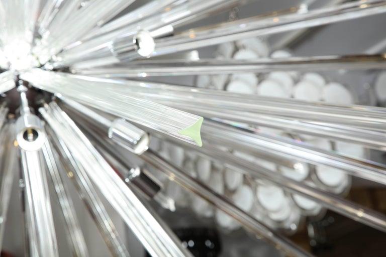 Italian Enormous Triadri Glass Rod Sputnik For Sale
