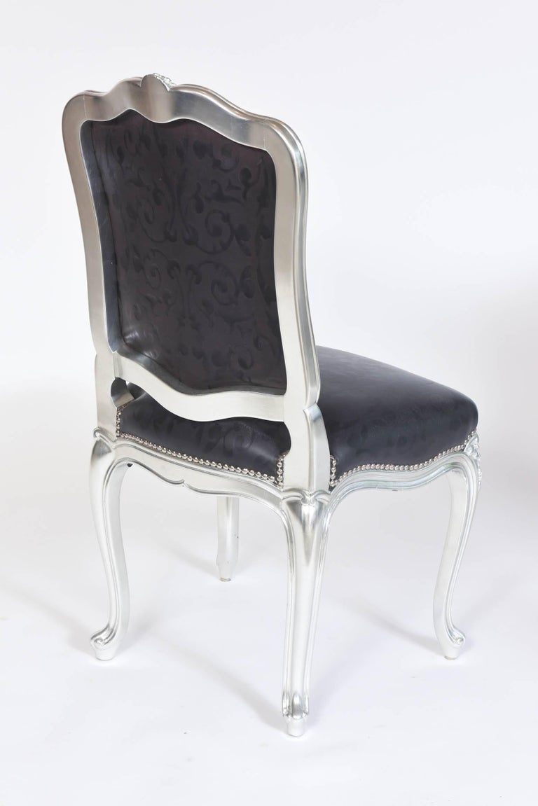 West Palm Beach Late 20th Century 12 Carlo Rampazzi Custom Design Dining Chairs For